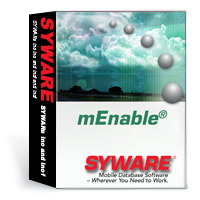 mEnable provides mobile synchronization software for mobile database applications