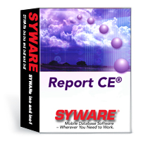 Report CE adds reporting, printing, and graphing capabilities to mobile database applications